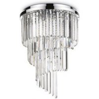 IDEAL LUX Carlton PL12 Cromo