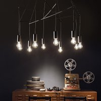 IDEAL LUX Pop SP10 Nero