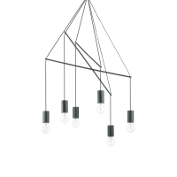 IDEAL LUX Pop SP6 Nero